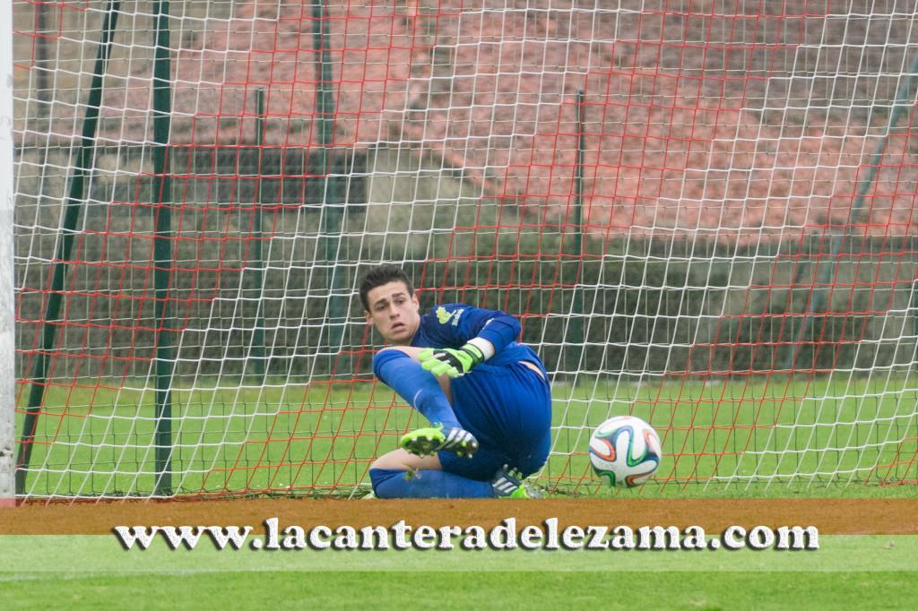 Kepa en su etapa con el Bilbao Athletic | Foto: Unai Zabaleta