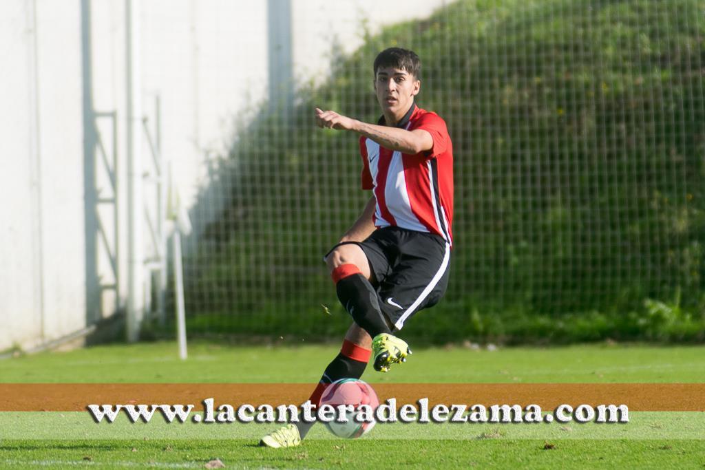 Julen Bernaola con el Athletic Juvenil DH | Foto: Unai Zabaleta