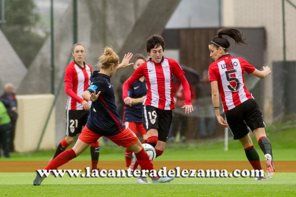 Erika ante el Atletico | Foto: Unai Zabaleta