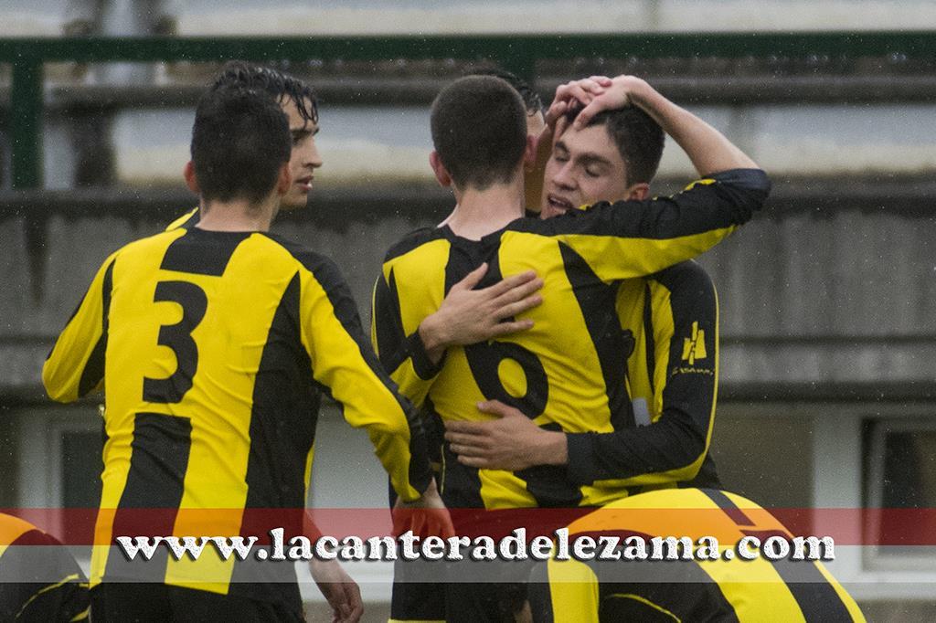 Celebración del gol de Unai Núñez | Foto: Unai Zabaleta