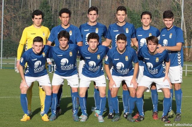 Once inicial del Real Oviedo | Foto: futbolastur