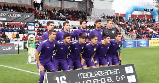 El Málaga CF vencedor en el MIC 2016