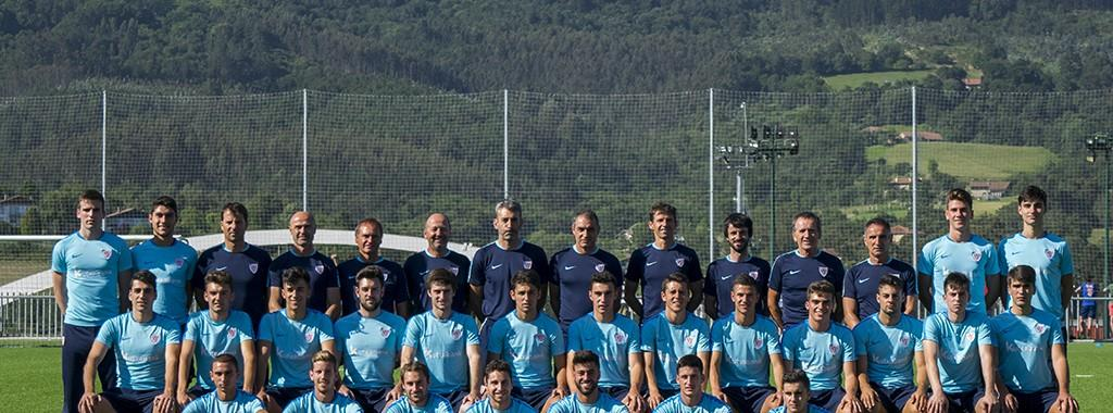 Foto de esta temporada del Bilbao Athletic    Foto: Unai Zabaleta