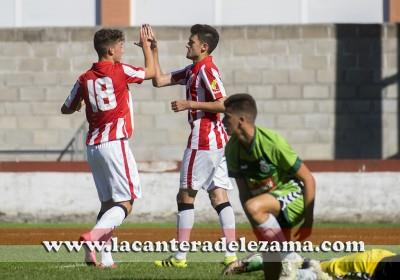 Ander Dulce, autor del segundo gol | Foto: Unai Zabaleta