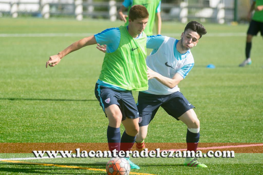Matias Lizarazu durante un entrenamiento | Foto: Unai Zabaleta