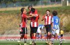 El equipo celebra un gol de Oihan Sancet | Foto: Unai Zabaleta