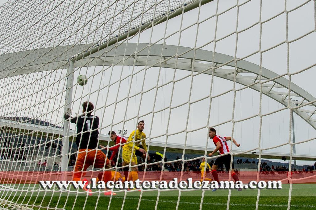 Instantánea fotográfica del gol de Bengoa | Foto: Unai Zabaleta