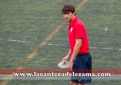 Ander Breda en su etapa en el Juvenil B del Athletic | Foto: Unai Zabaleta