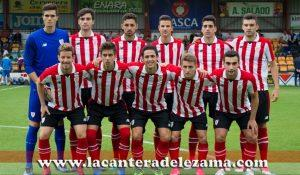 Once inicial del Bilbao Athletic en Portugalete   Foto: Unai Zabaleta