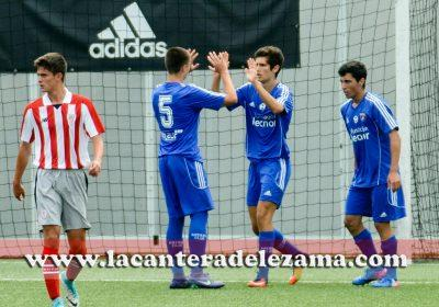 Diliberto autor del primer gol | Foto: Unai Zabaleta